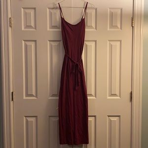 Old Navy Maxi Dress with Front Tie